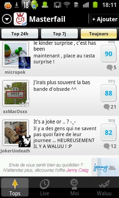 Gag, Rire, Fail : MasterFail - screenshot