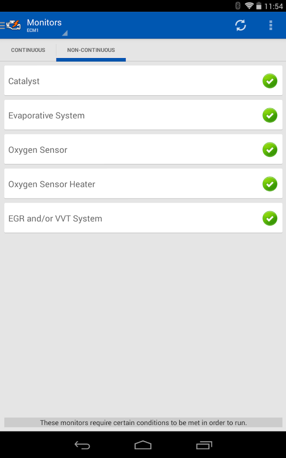 OBD Auto Doctor- screenshot