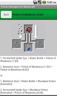 Potion Recipes for Minecraft