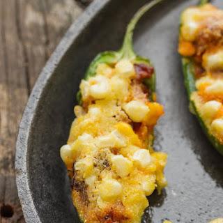 Sweet Corn Cake & Chorizo Poppers