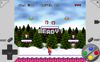 Screenshot of SuperRetro16 Lite (SNES)