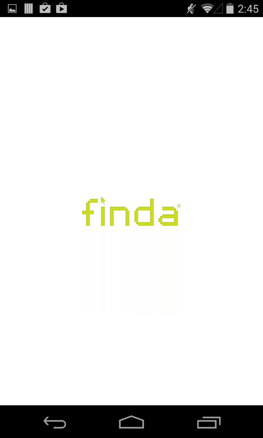 Finda®- screenshot