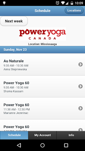 Power Yoga Canada Mississauga