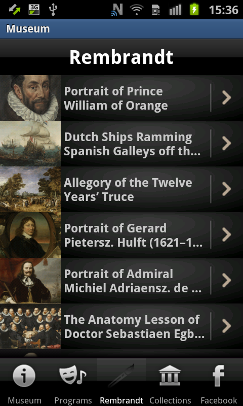 Museum of Fine Arts, Budapest - screenshot