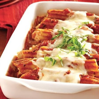Super-Easy Chicken Manicotti