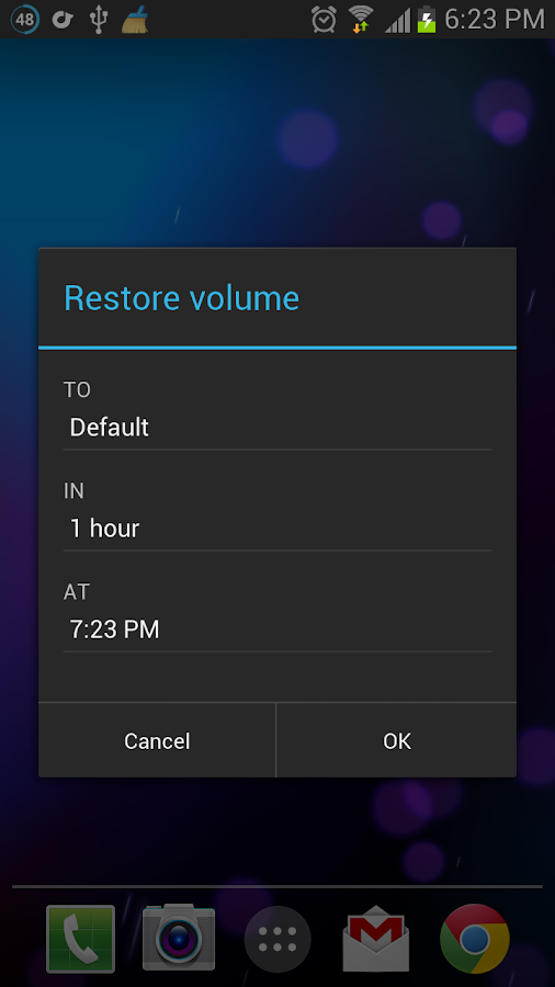 Persist + Volume Control - screenshot
