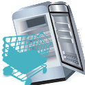 Refrigerator shopping icon