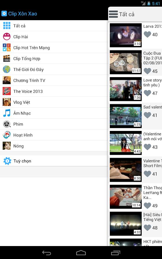 Clip Xôn Xao - screenshot