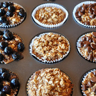 INDIVIDUAL BAKED OATMEAL CUPS- CLEAN EATING