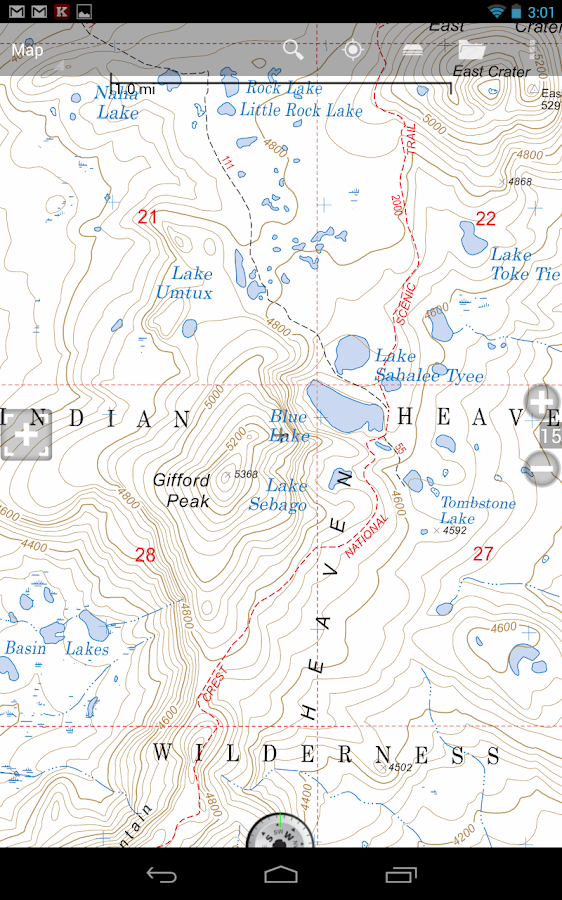 BackCountry Navigator TOPO GPS - screenshot