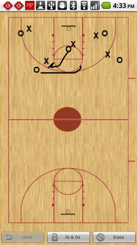 Basketball Playbook - screenshot