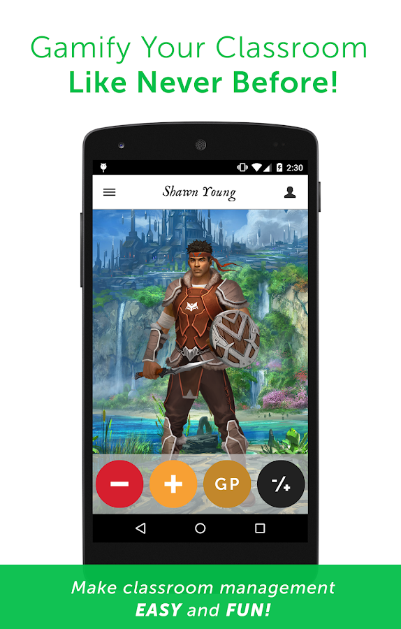 Classcraft- screenshot