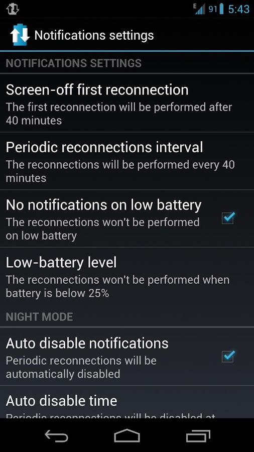 3G Manager - Battery saver- screenshot