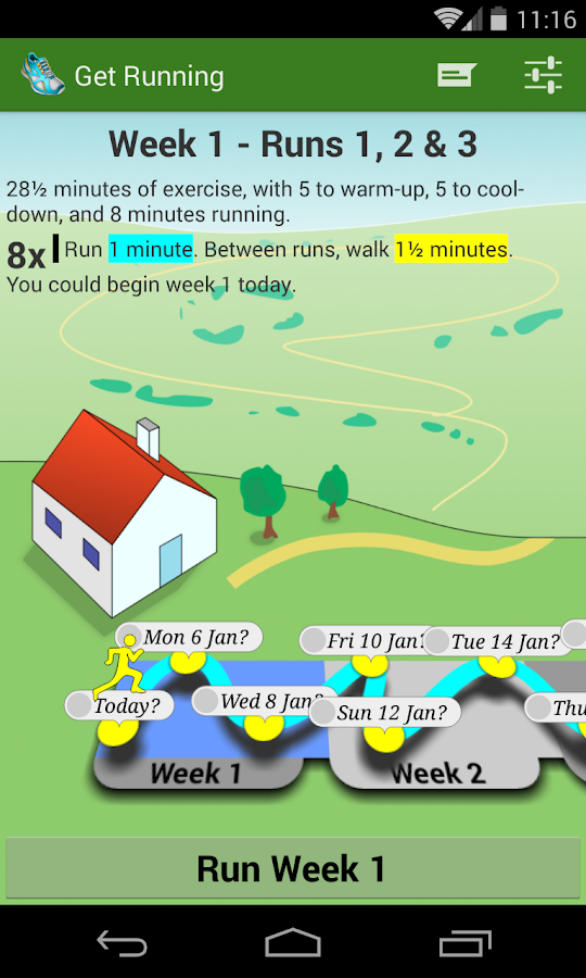 Get Running - screenshot