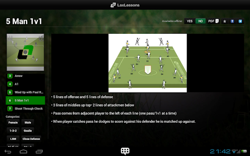 LaxLessons - screenshot thumbnail