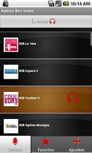 Radios Box Swiss