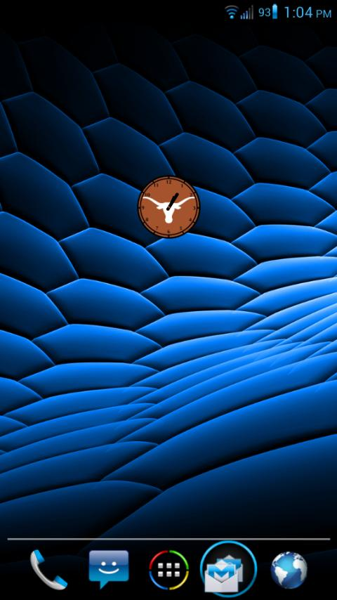 UT Clock - Samsung Galaxy S - screenshot