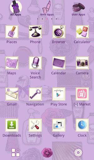 Cute Theme Radiant Lavender 1.0 Windows u7528 2