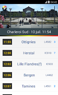 BeTrains - SNCB Belgium- screenshot thumbnail