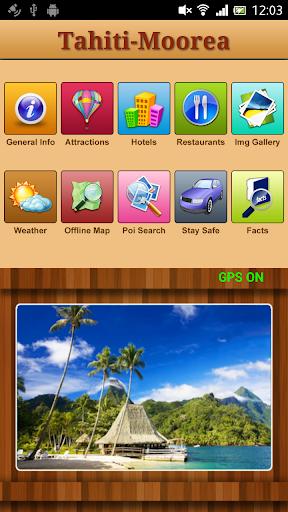 Tahiti Moorea Offline Guide
