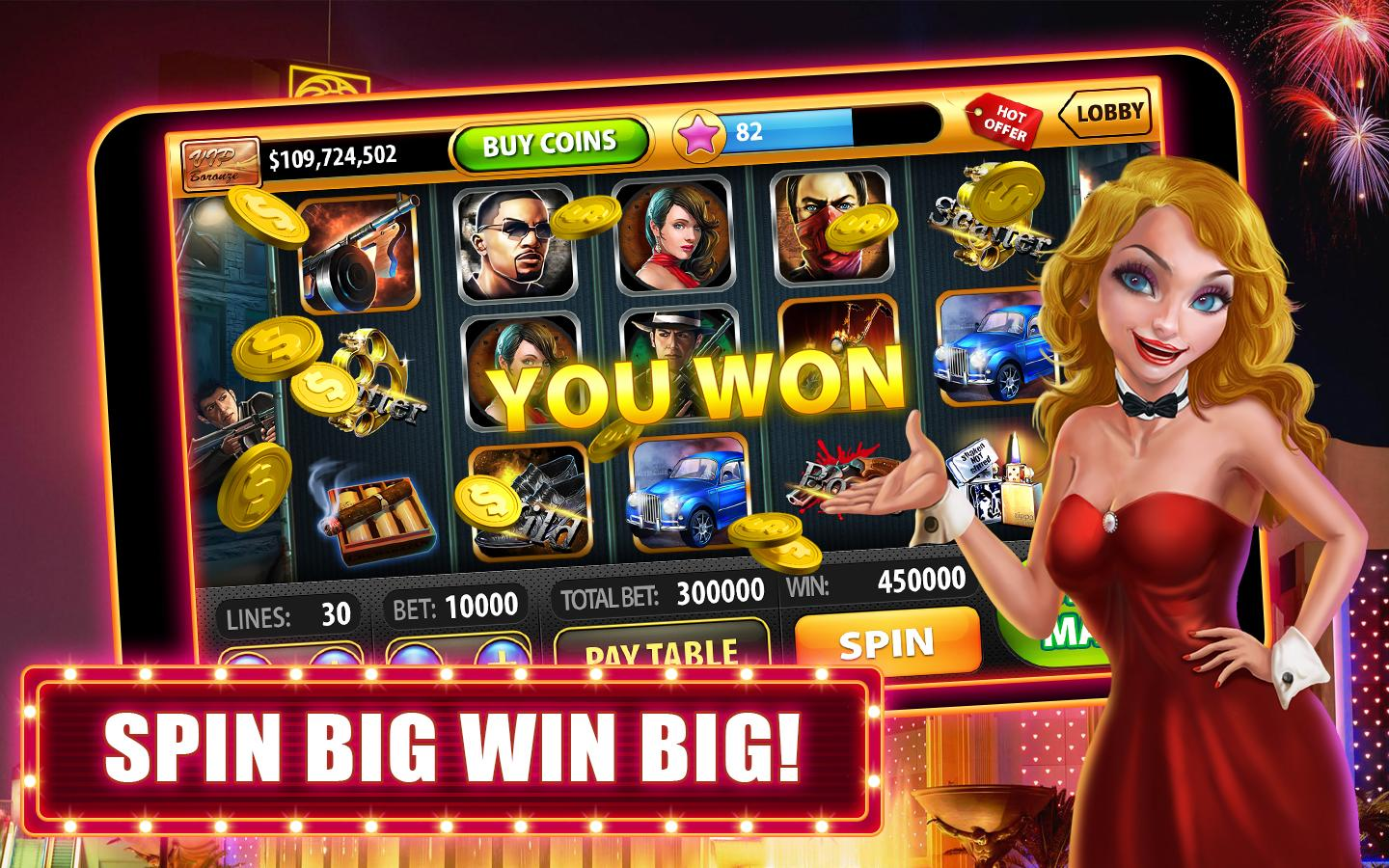 casino slot win video