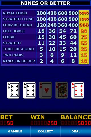 Pick A Pair Poker - screenshot