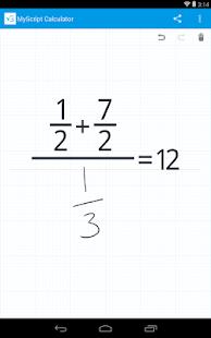 MyScript Calculator Screenshot 27