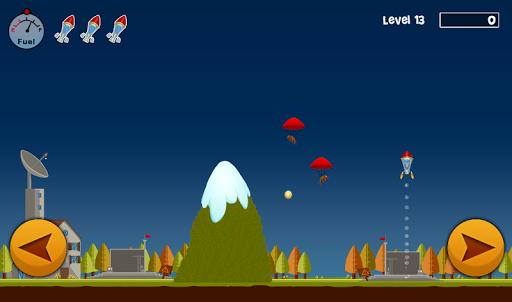 【免費街機App】Earth Lander-APP點子