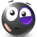 Texte Smileys ™ Black icon