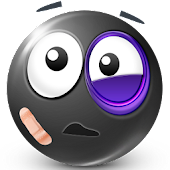 Black Smileys by Emoji World ™