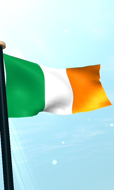 Download Ireland Flag 3d Live Wallpaper By I Like My Country Flag