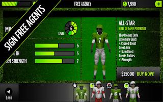 Screenshot of GameTime Football w/ Mike Vick