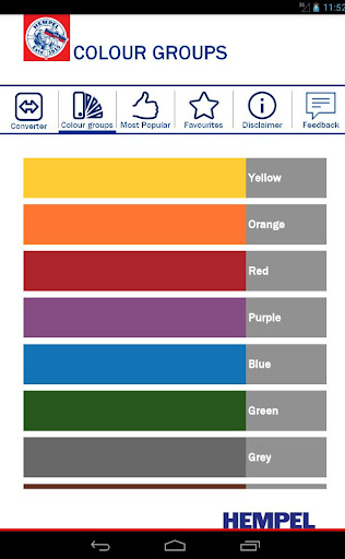 【免費生產應用App】Hempel Colour Converter-APP點子