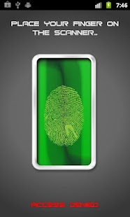 Fingerprint Lock HD - screenshot thumbnail
