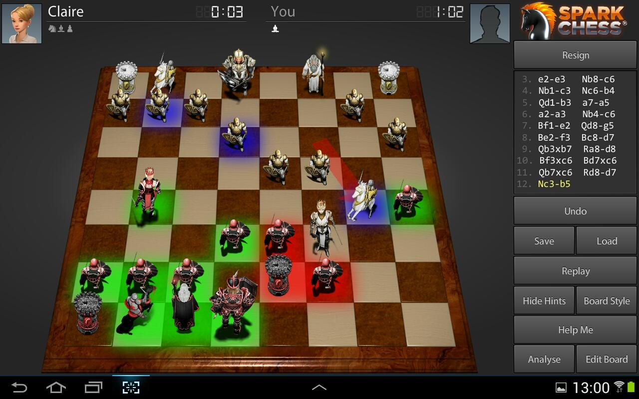SparkChess HD Lite - screenshot
