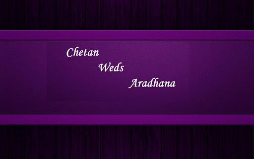 ChetanWedsAaradhana
