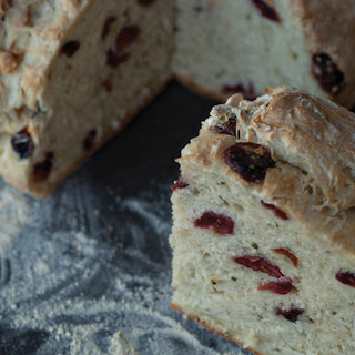 Rosemary and Cranberry Soda Bread