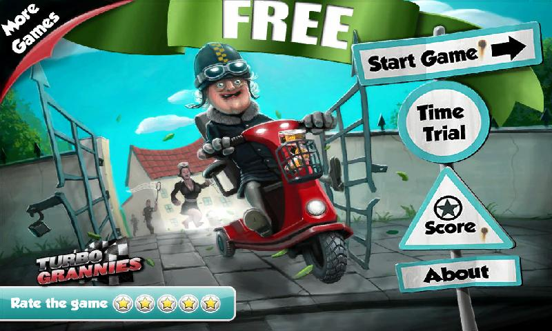 Turbo Grannies FREE - screenshot