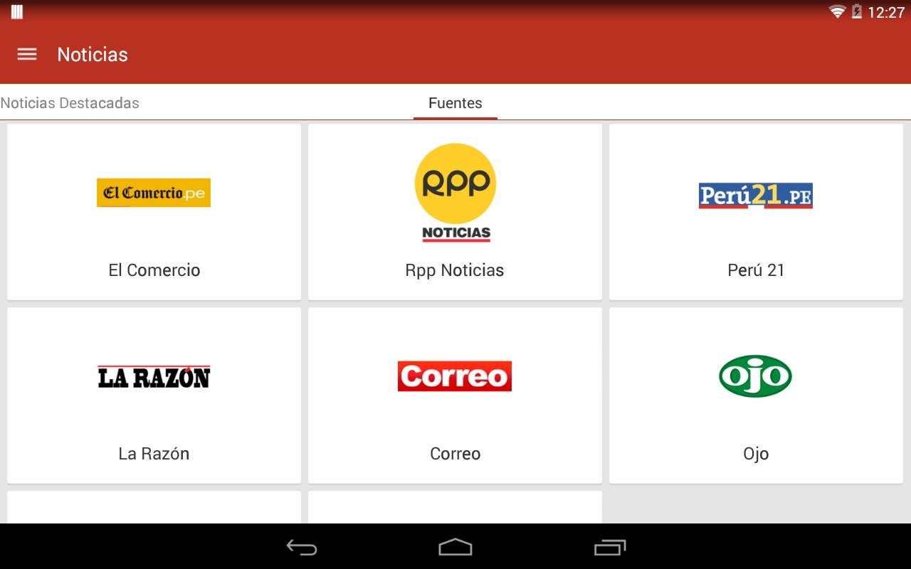 FullTvPeru (tv peru) - screenshot