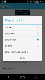 Data counter pro | data usage- screenshot thumbnail