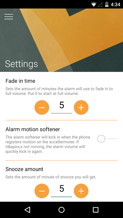 Morning Routine - Alarm Clock- screenshot
