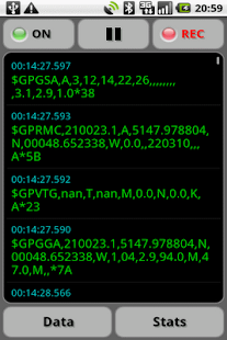 GPS Nmea Monitor - screenshot thumbnail