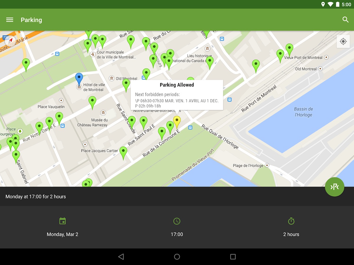 Park Catcher Montreal- screenshot