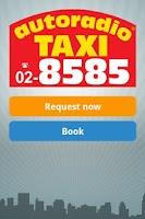 Screenshot of taxicab  radiotaxi 8585 Milano