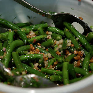Green Bean, Wheatberry and Barley Salad.