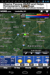 WDRB Weather App - screenshot thumbnail