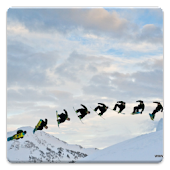 Snowboarders Live Wallpaper