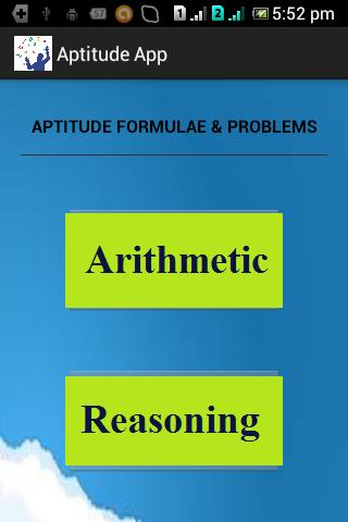 Aptitude App