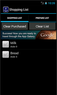 google shopping list app