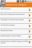 Screenshot of EULAR 2012